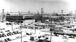 Northwest exposure of the Pentagon's construction underway, July 1, 1942