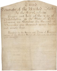 The Eleventh Amendment in the National Archives