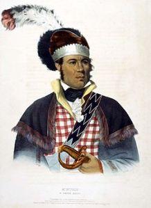 Lower Creek chief William McIntosh