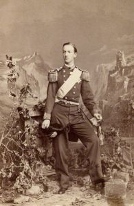 Photograph of King George I of Greece, 1863