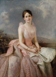 Painting of Juliette Gordon Low by Edward Hughes, 1887.