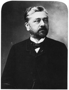 Gustave Eiffel in 1888, photographed by Félix Nadar