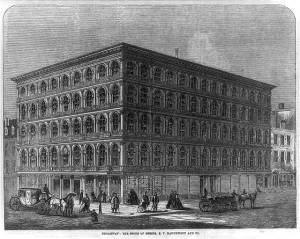 Haughwout Building, 488 Broadway in 1859