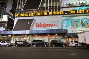 In 2008, Walgreens opened a new flagship location at One Times Square