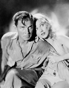 Bruce Cabot with Fay Wray in the 1933 film King Kong