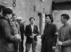 Members of the French Resistance on September 14, 1944