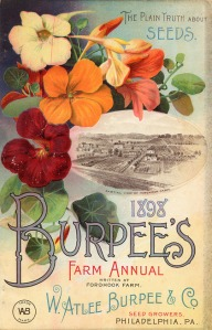 1898 Burpee Seed catalog cover