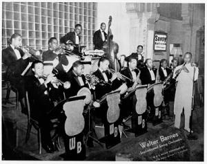 Walter Barnes orchestra, Savoy Ballroom (Red Tops collection, UM)