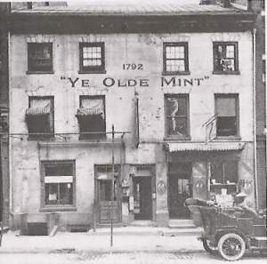 The First Philadelphia Mint