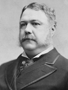 Chester A. Arthur, the 21st President of the United States of America
