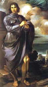 Saint Pancras, by Guercino, 1616